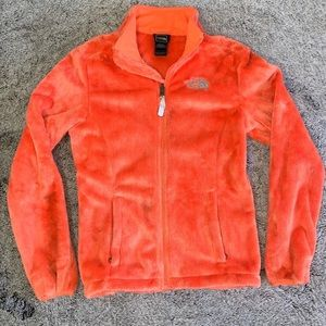 Womens size XS The North Face orange sweater